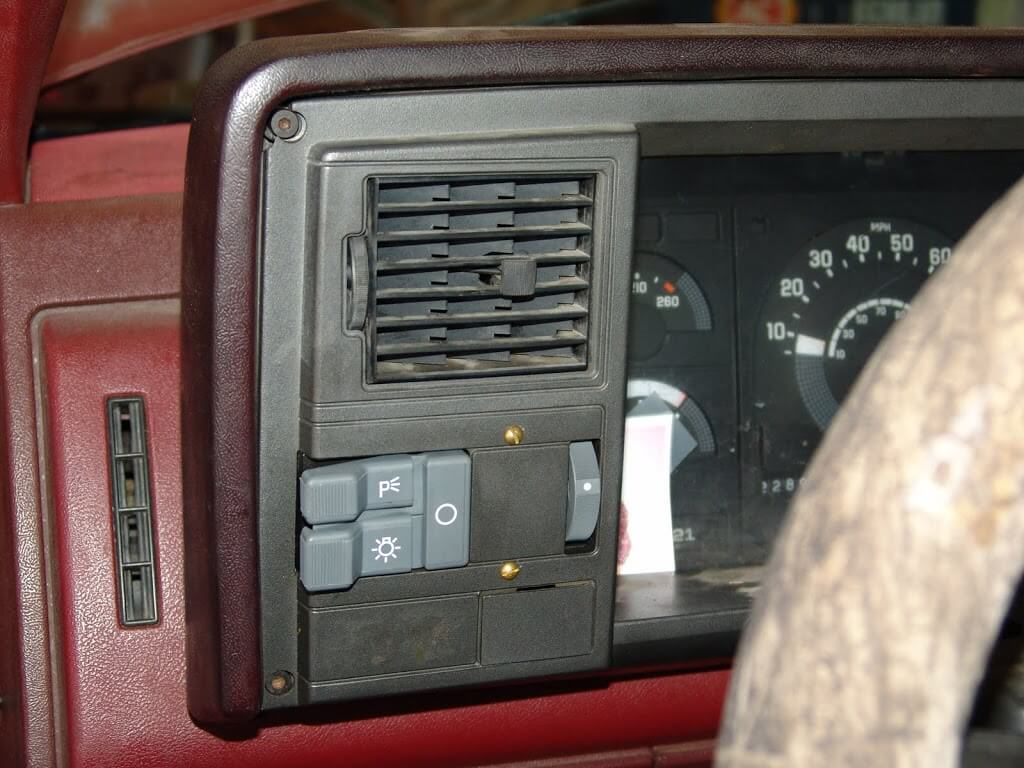 1990 Chevrolet K1500 Pickup Multiple on subaru air conditioning diagram