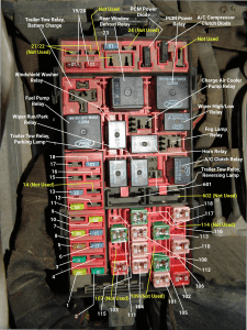 sparky s answers ford f underhood fuse box identification