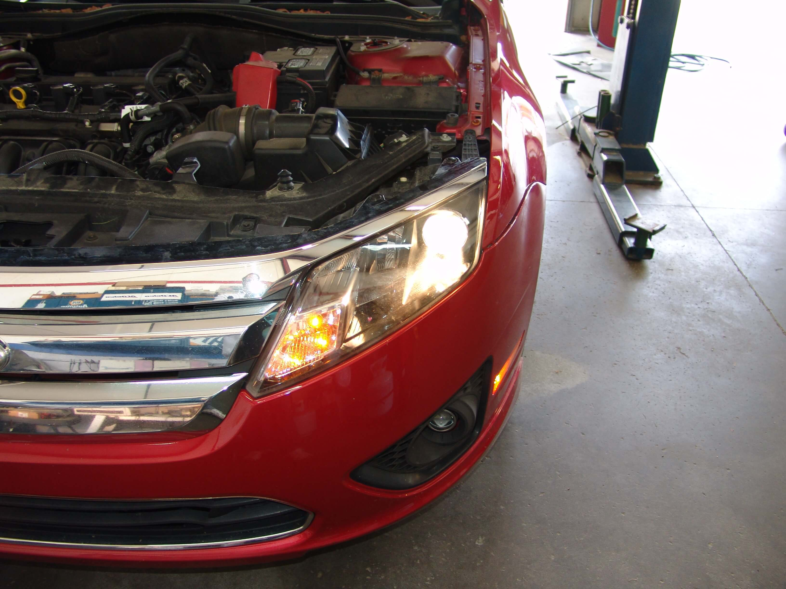 chrysler headlight wiring diagram sparkys answers 2012 ford fusion low beam    headlight    does  sparkys answers 2012 ford fusion low beam    headlight    does