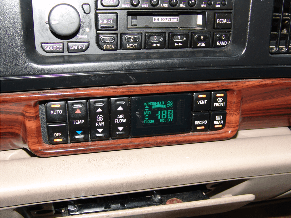 Sparky S Answers 1999 Buick Lesabre A C Controls Blinks