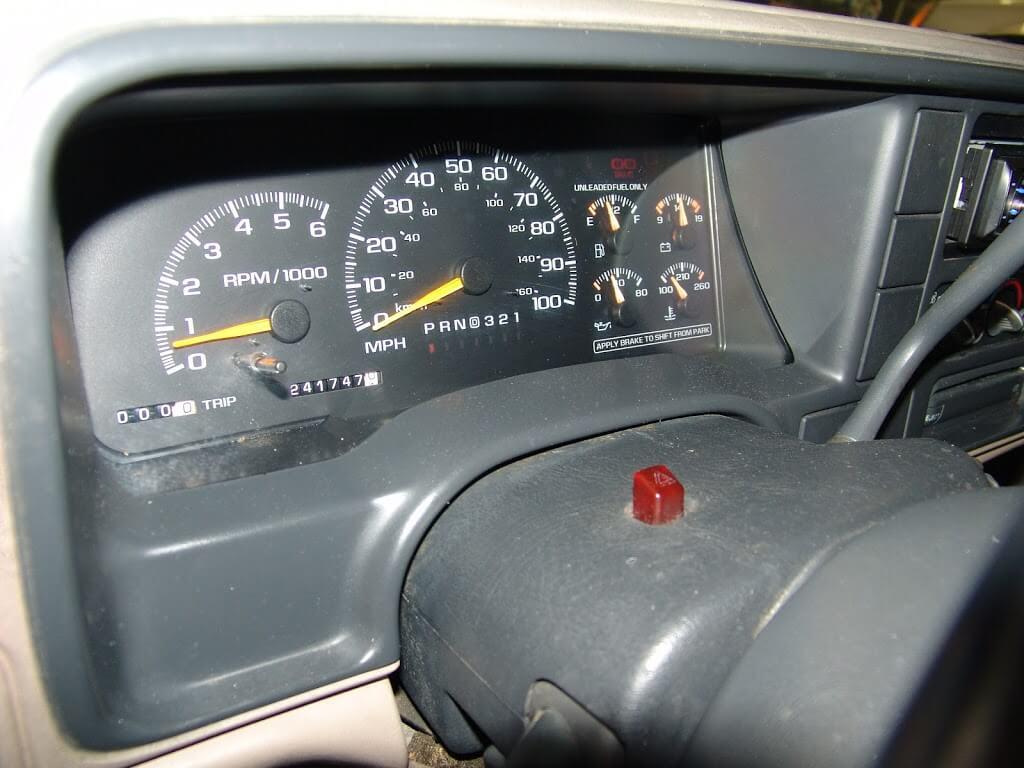 1999 Honda Civic Instrument Dash Lights Electrical Problem 1999