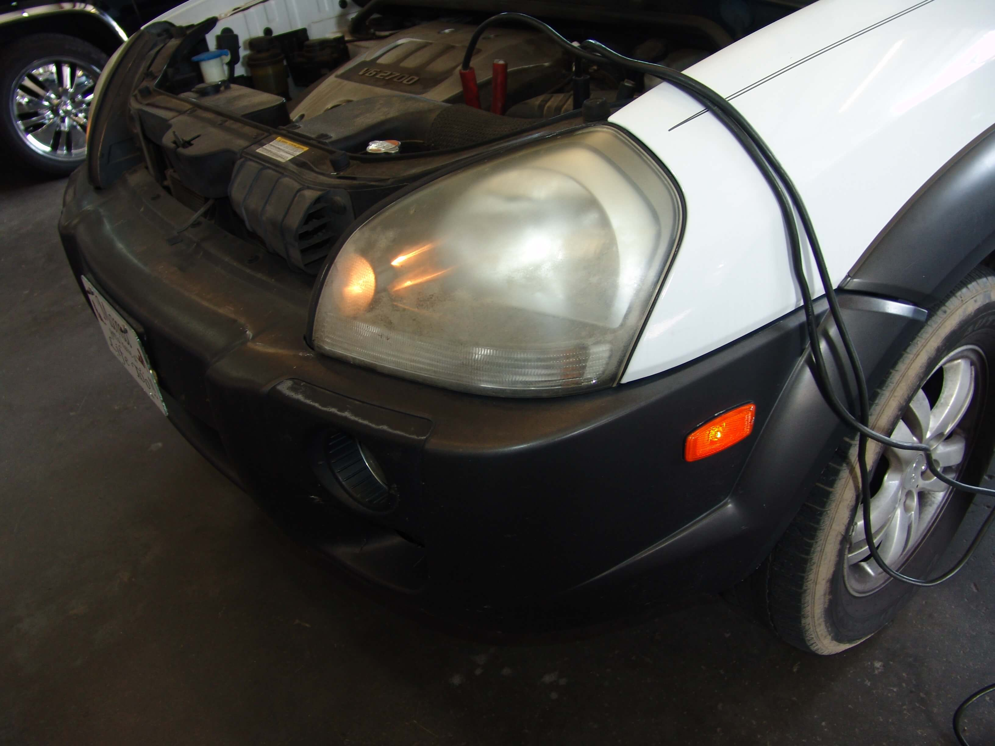 Sparkys Answers 2006 Hyundai Tucson Park Lights Stay On